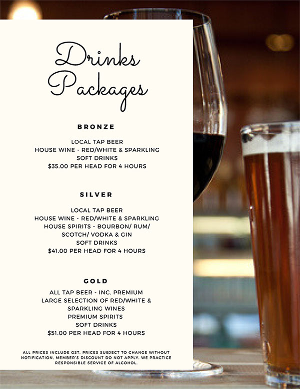 Drinks-Packages