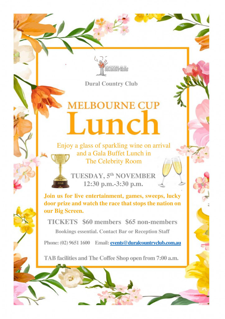 2019 Melbourne Cup Lunch 2